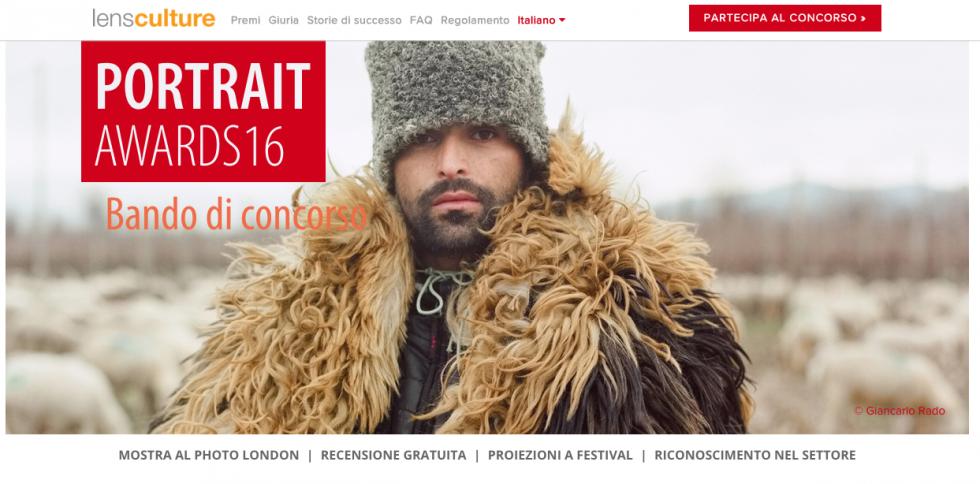LensCulture 2016 un nuovo concorso per iniziare il 2016