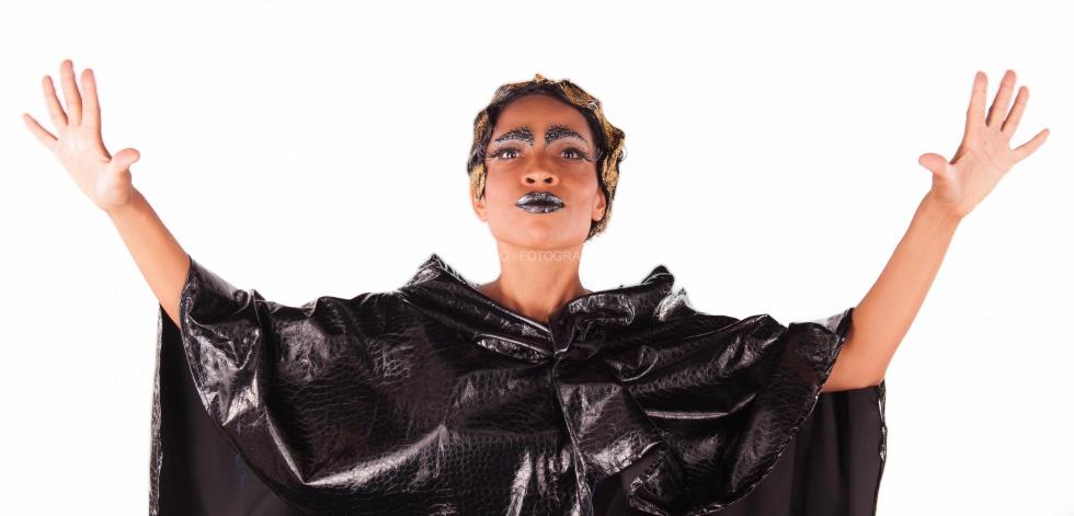 Special art shooting Daniela Pobega – Christian Destradi by Fotograffiare.com
